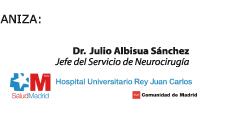 Dr. Julio Albisua Sánchez. Jefe del Servicio de Neurocirugía. Hospital Universitario Rey Juan Carlos. Móstoles, Madrid