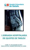 I JORNADA HOSPITALARIA DE QUISTES DE TARLOV
