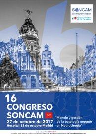 El 16 Congreso de la SONCAM estará centrado en el manejo y gestión de la patología urgente en neurocirugía